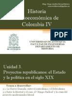 Unidad 3 Proyectos Republicanos El Estado y La Política en El Siglo XIX (Avance)