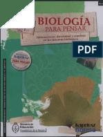 Biologia Para Pensar Harburguer l Kapeluz Norma 2009 130416230039 Phpapp01