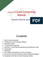 World Cloud Computing Market