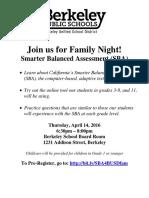 SBA Family Night - Flyer2016Final