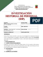Formato Informe IHP FINAL