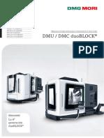 Centro de Mecanizado Dmu Dmc Duoblock 4 PDF Data
