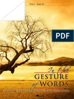 In the Gesture of Words_Issue#1