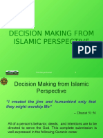 L10 Decision Making From Islamic Perspective