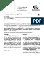 A New Biomimicry Marine Current Turbine - Study of Hydrodynamic Performance