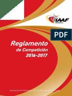 Reglamento IAAF 2016-17