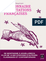 Dictionnaire Des Citations Francaises