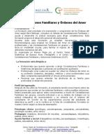 Formacion en Constelaciones Familiares 2013 Programa