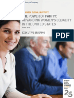 MGI Power of Parity in US Executive Briefing