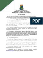 Edital Para Matrícula de Selecionados Pela OEA 2015