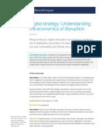 Digital Strategy Understanding the Economics of Disruption