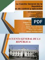 Grupo 5 Cuenta General de La Republica Sistemas de Control y Ejecucion Presupuestal