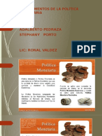 Instrumentos de Las Politicas Monetarias