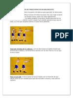 Los Tipos de Pases Básicos en Baloncesto