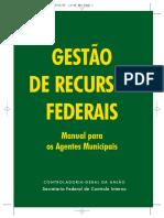 Cartilha Gestao Recursos Federais