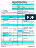 Academic Calendar Jan-June 2013