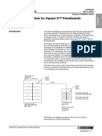 Selectivity Guidelines for Square DGäó Panelboards