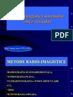 Radio Imagistica Sistemului Osteo Articular