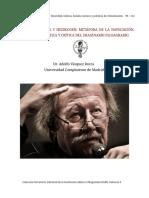 Sloterdijk y Heidegger Metafora de La Navegacón