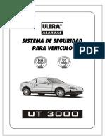 Manual Vehiculo Alarma Ut3000