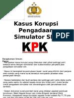 Kasus Korupsi Pengadaan Simulator SIM di Indonesia