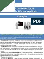 Lista de Exercicios Demanda Oferta e Equ