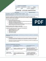 Acta de Constitución (Project Charter)