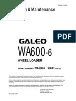 O&M WA600-6