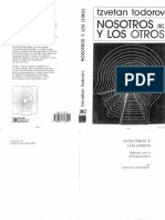 Tzvetan Todorov Nosotros y Los Otros PDF