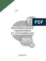 Mathématiques Financières Et Actuarielles