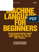 Machine Language for Beginners
