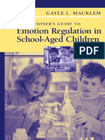 Emotion Regulation in Children