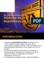 Historiadelasasambleasdedios Nivelinternacionalppt 120428121754 Phpapp01