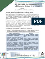 Actividad de Aprendizaje Unidad 4-Registro y Documentacion de Un Sistema de Calidad. María Dugarte.
