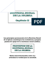 Principios y Valores de La Doctrina Social de la Iglesia