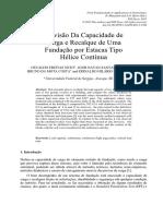 Artigo Panamericano 2015 - Capacidade de Carga Em Estacas