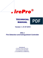 FirePro Technical Manual FPC-1 2010 Rev 1 01 07 10