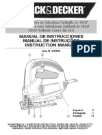 Manual Serra Tico-Tico Black Decker KS455