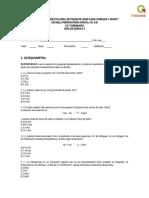 Guía de Química 2, 2016.