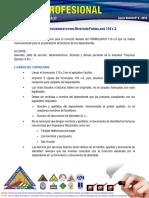 Procedimientos Formulario 110v.3 (CAUB)
