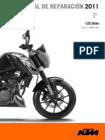Manual de Reparacion Duke 125