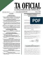 Decreto presidencial fue publicado en Gaceta Oficial este jueves 7 de abril