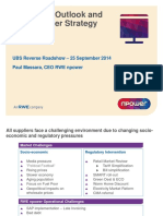 Market Outlook and Npower Strategy 2014-09-25