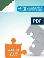Rapport Ombudsman 2009