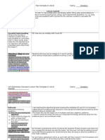 university observation 2 lesson plan