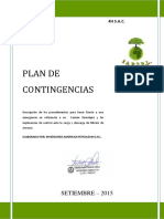 Plan de Contingencias 4h s.a.c.