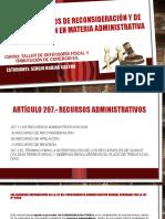 Ley N° 27444- Recursos administrativos