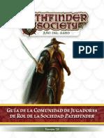Guía de La Sociedad Pathfinder 7.0