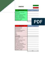 Plantilla Excel Economia Familiar 2015