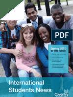 International Students Newsletter Spring 2010 - Coventry University, UK